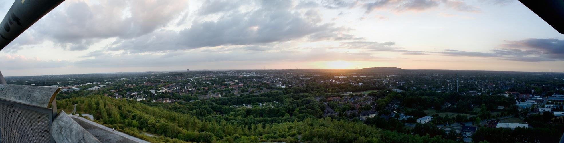 Panorama vom Tetraeder aus