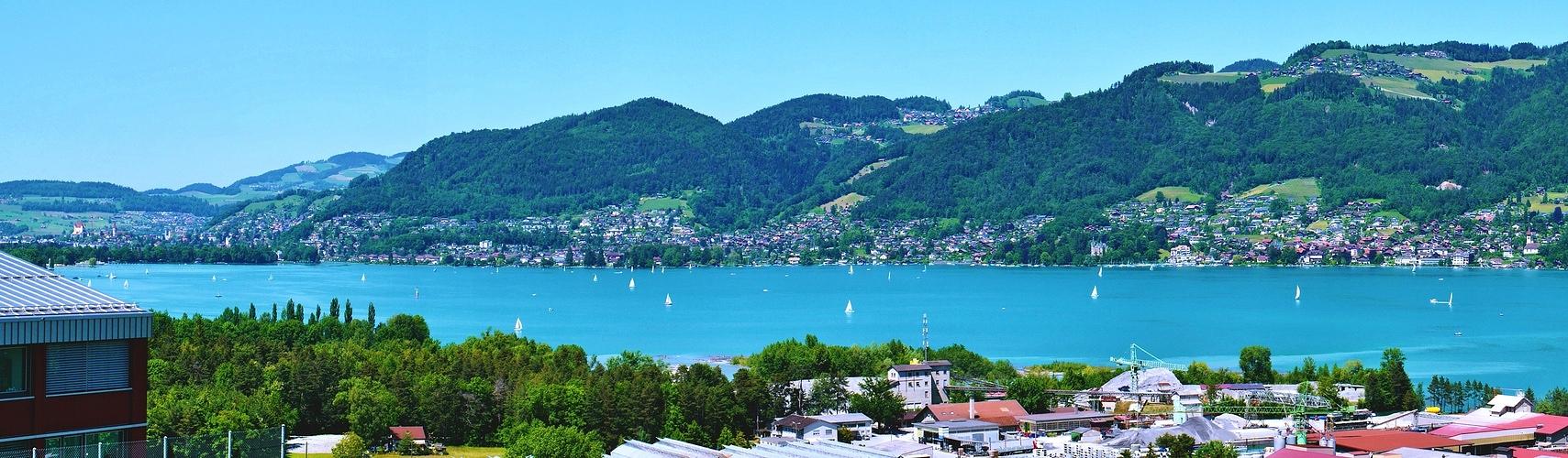 Panorama vom Thunersee