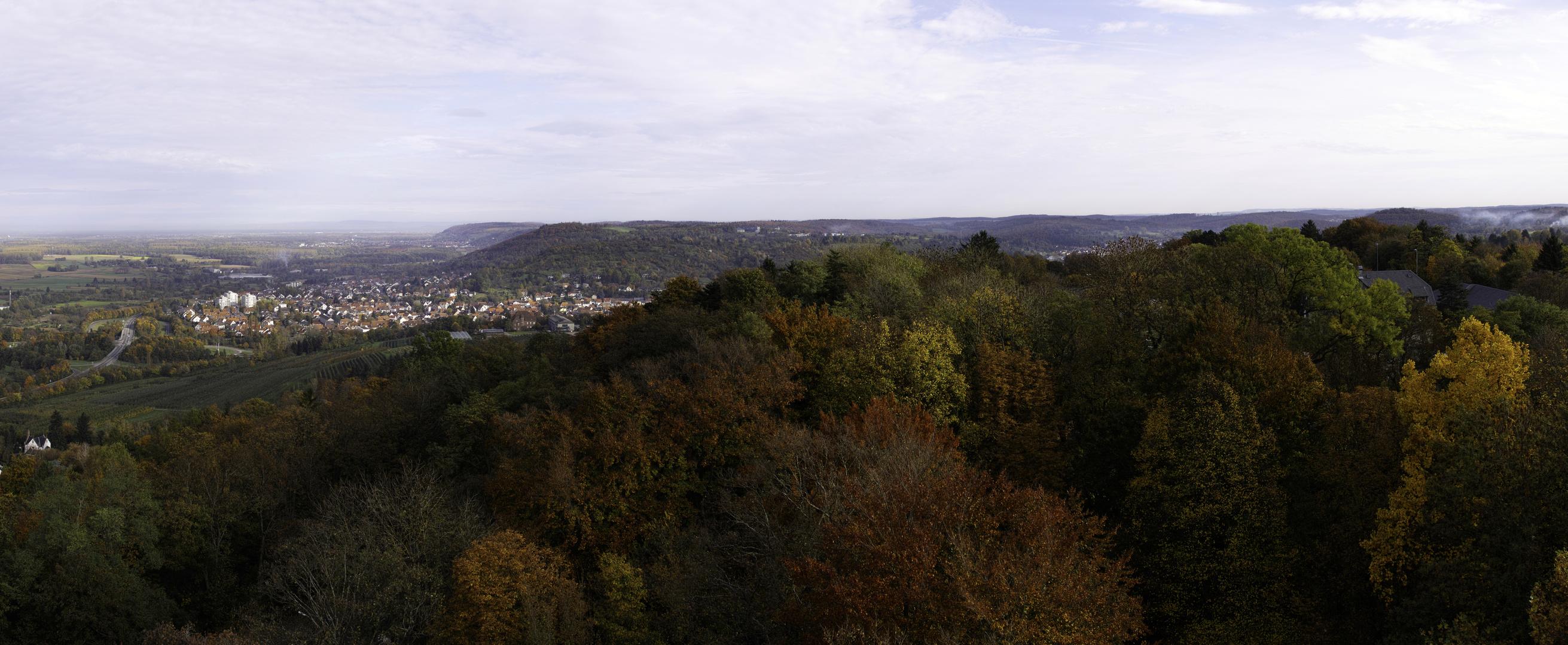Panorama vom Turmberg 2