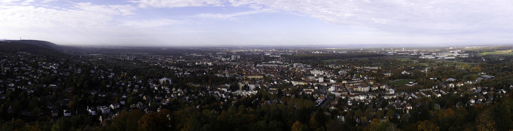 Panorama vom Turmberg 3