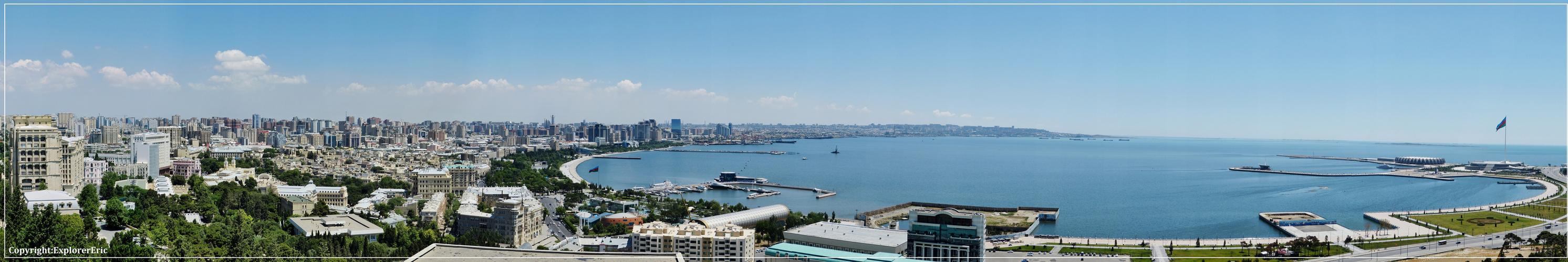 Panorama von Baku......