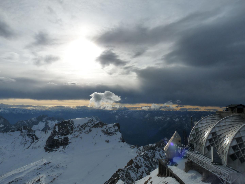 Panorama von der Zugspitze