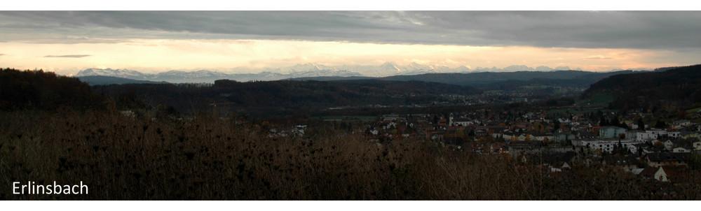 Panorama von Erlinsbach