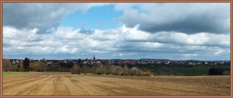 Panorama von Kalchreuth