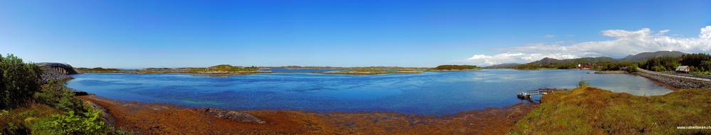 Panorama von Kraevaeg