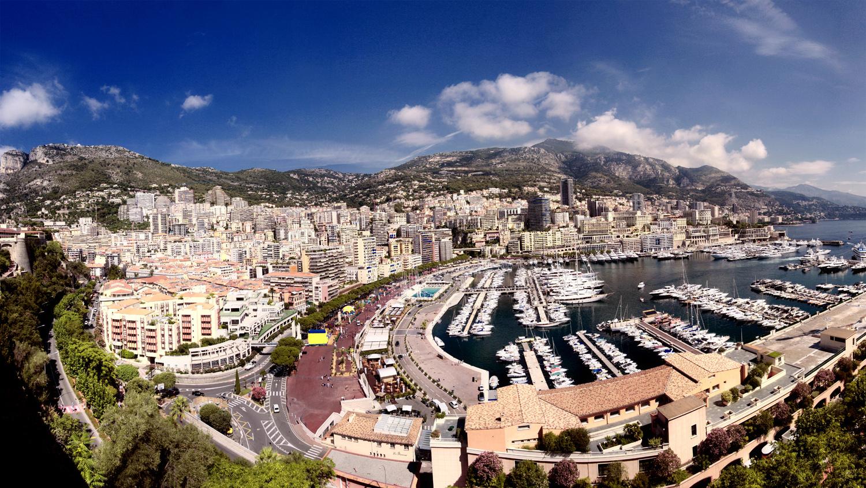Panorama von Monaco!!!