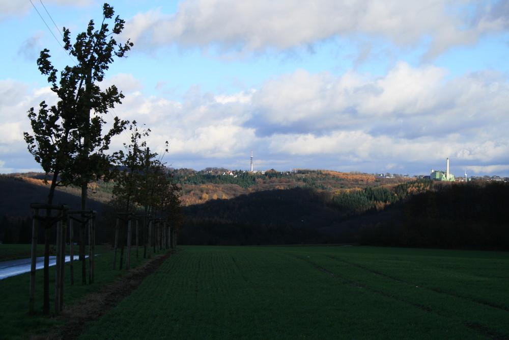 Panorama von Wuppertal