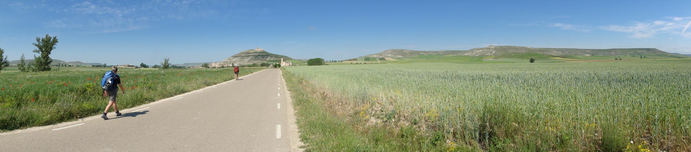 Panorama vor Castrojeriz