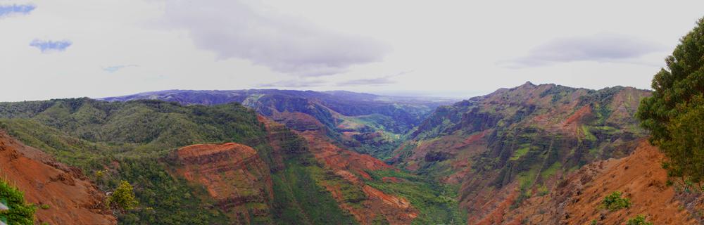 Panorama Waimea - Canyon