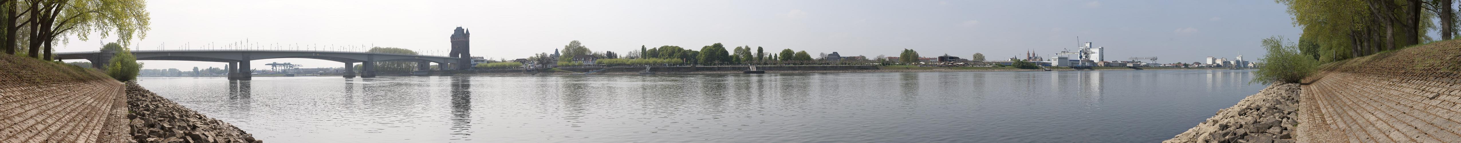 Panorama - Worms am Rhein