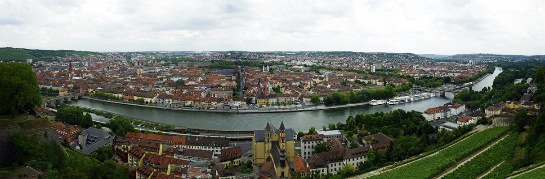 Panorama Würzburg