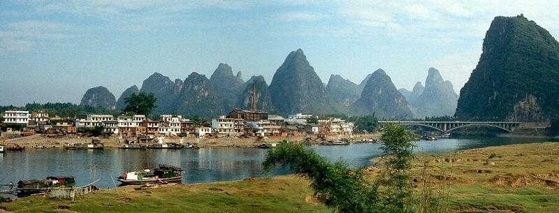 panorama yangshou bei guilin 2