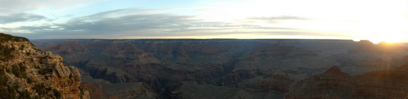 Panoramabild vom Grand Canyon