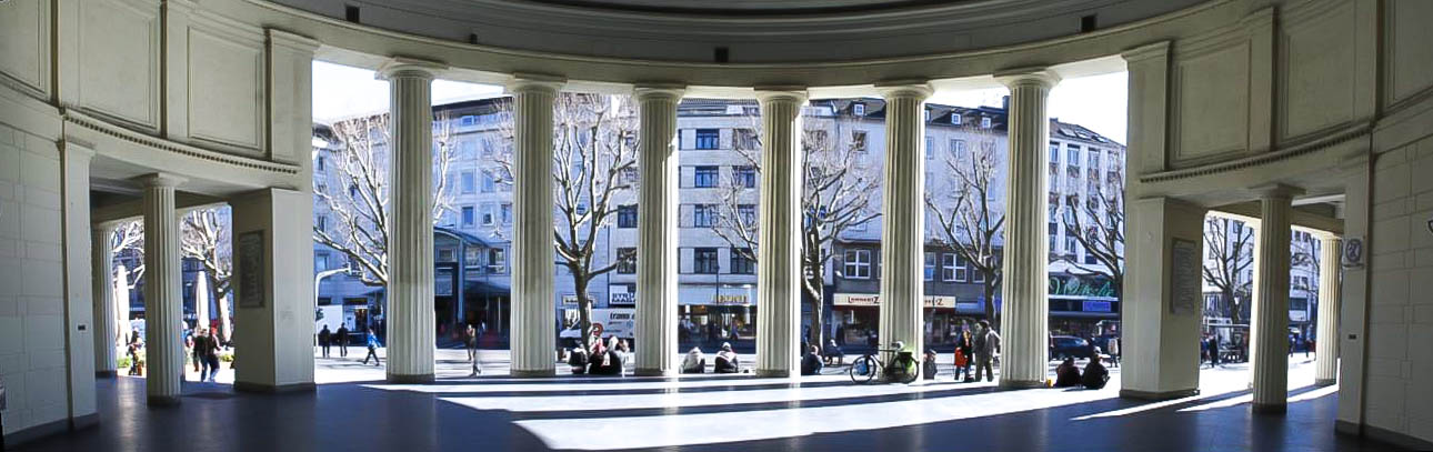 Panoramablick Elisenbrunnen