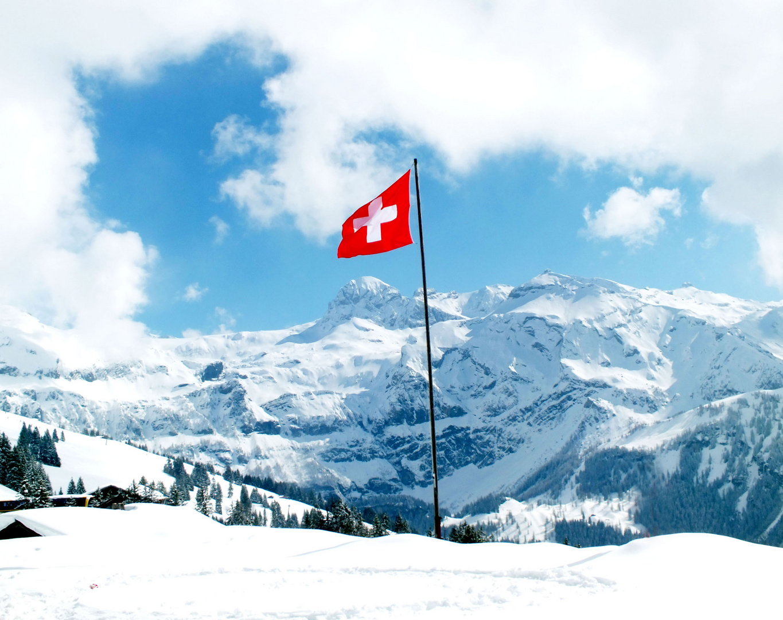Panoramablick Schweiz