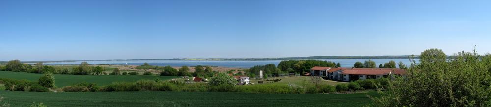 Panoramablick über den Kummerrower See
