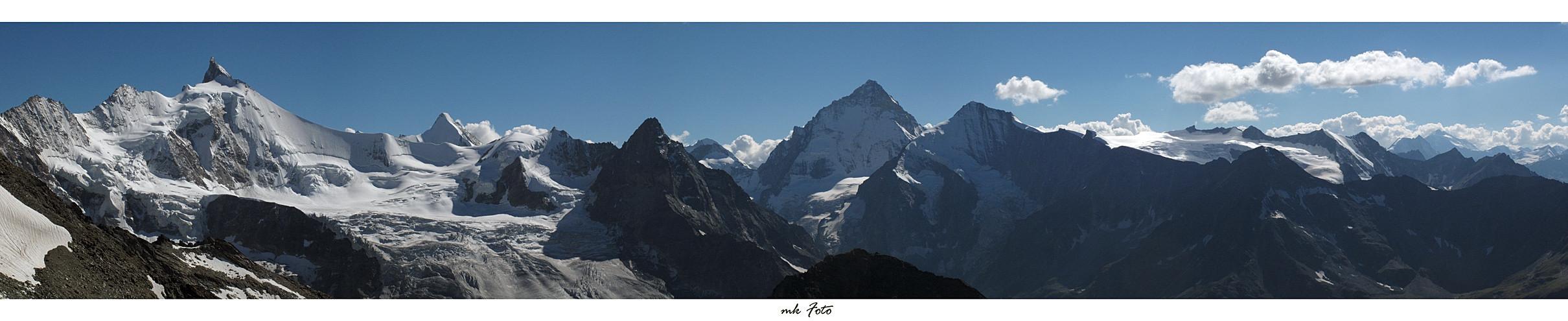 Panoramablick von Cab. de Tracuit
