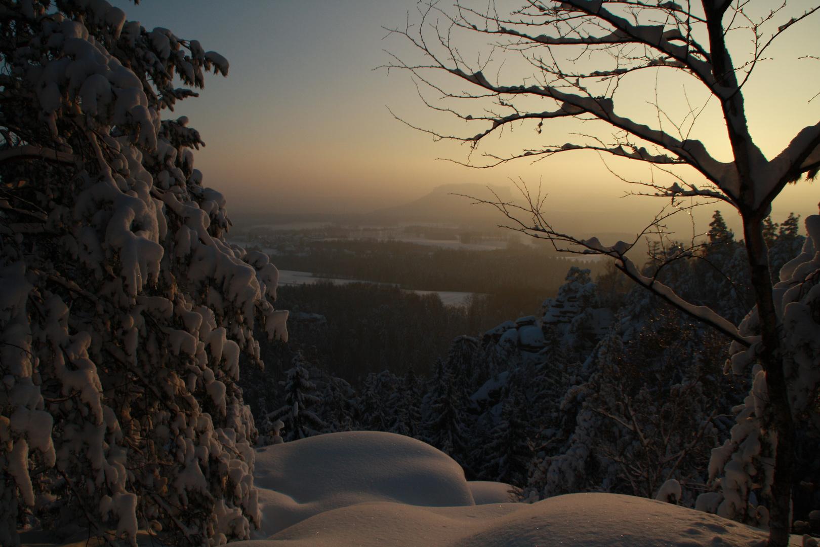 Panoramafels Sächsische Schweiz