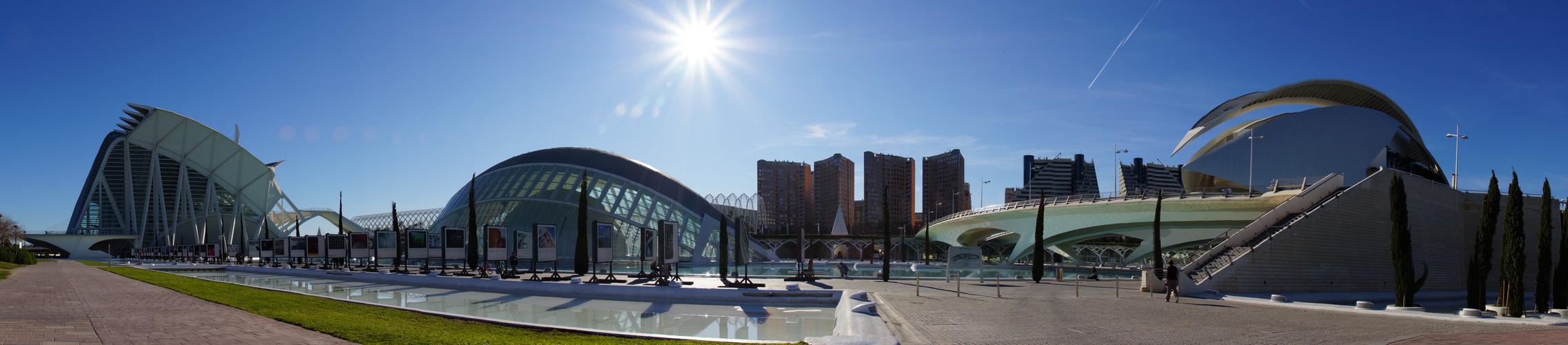 Panorámica Ciudad Artes y Ciencias
