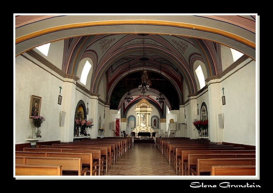 Panorámica de la iglesia de Ocotepec II