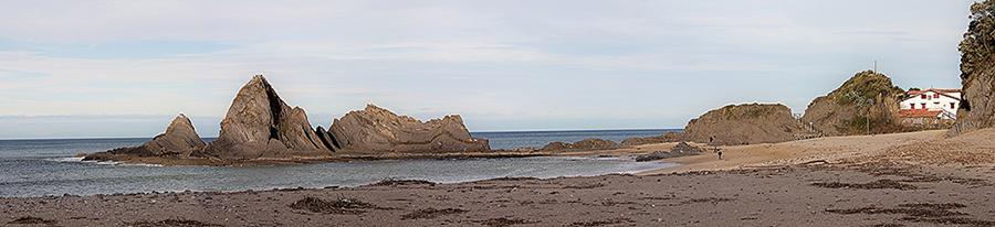 panoramica saturraran - motrico - gipuzkoa