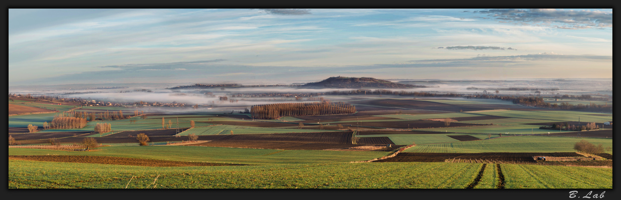 Panoramique d'Auvergne