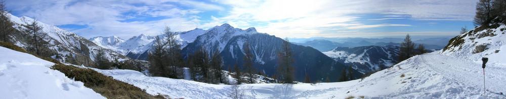 Panoramique de St Léger