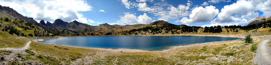 Panoramique Du Lac d'Allos - 2230m