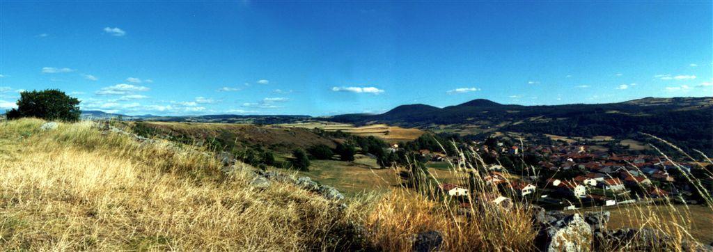 panoramique sur Monastier