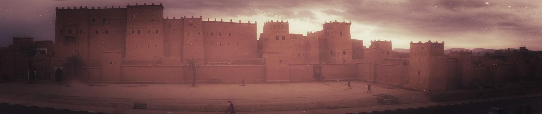 panorma Ouarzazate kasbah