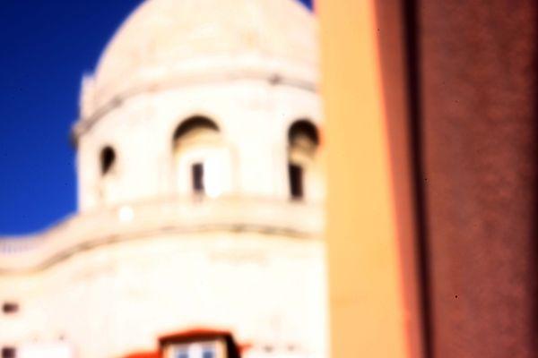 Pantéon, Alfama, Lisboa durch die Lochkamera