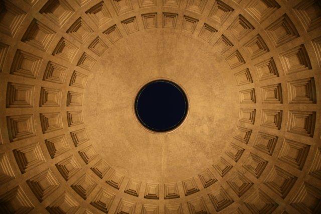 Pantheon, l'occhio sul cielo