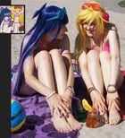 Panty & Stocking @ Daten Beach – Nail enamel