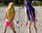 Panty & Stocking @ Daten Beach – Volleyball 4