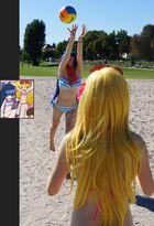 Panty & Stocking @ Daten Beach – Volleyball 6