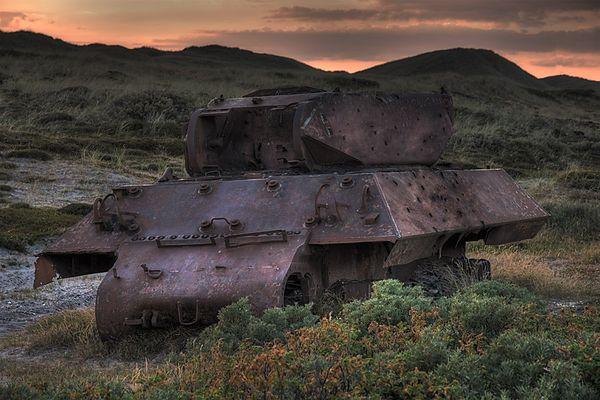 Panzer entdeckt! Aber welcher?