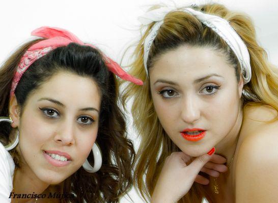 ...Paola y Zahara...