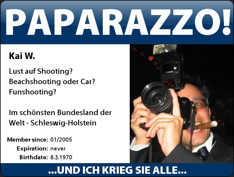 Paparazzo!