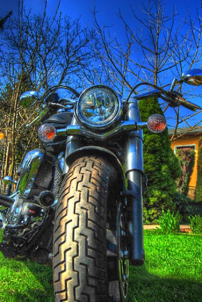 Papas Motorrad mal anders ...