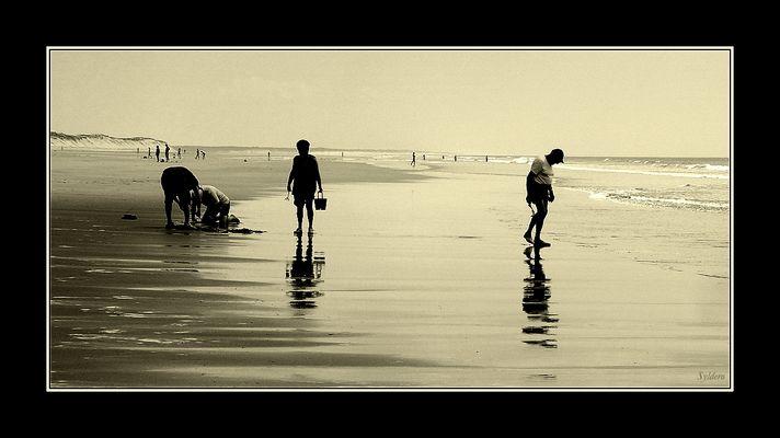 Papi & Mamie à la plage
