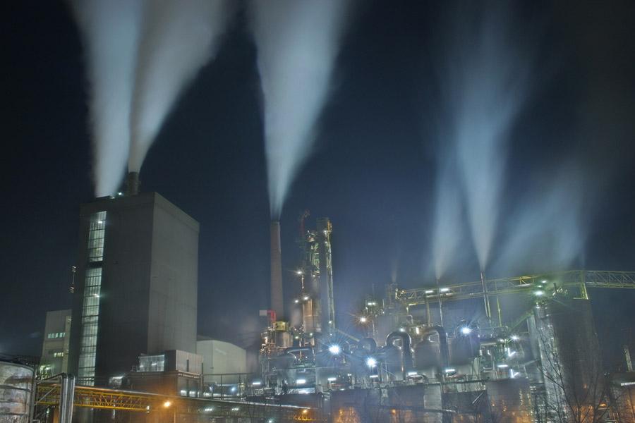 Papierfabrik Frantschach grosse Ansicht