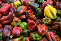 Paprika - auf dem Markt in Catania