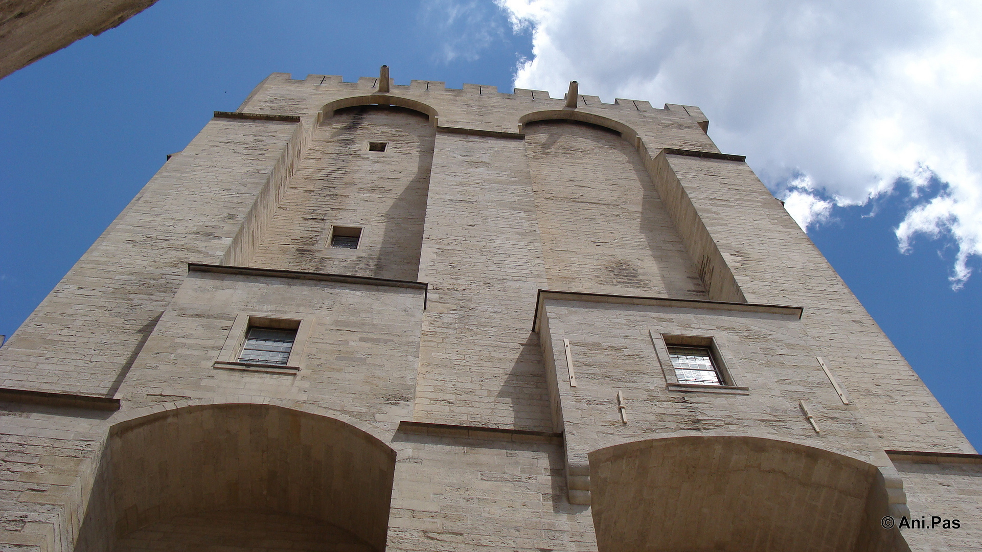 Papstpalast zu Avignon