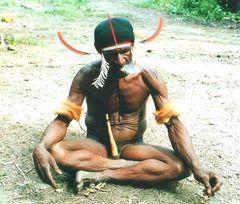 Papua- Mann
