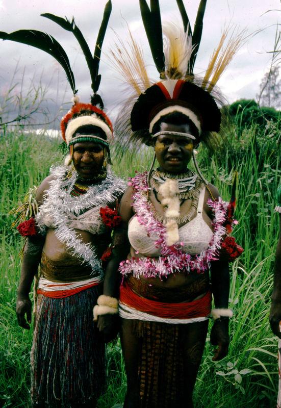 Papua-Neuguinea - Zurück vom Einkauf