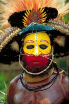 Papua New Guinea (4) - Tribal face