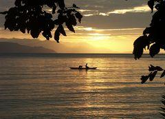Papua sunset
