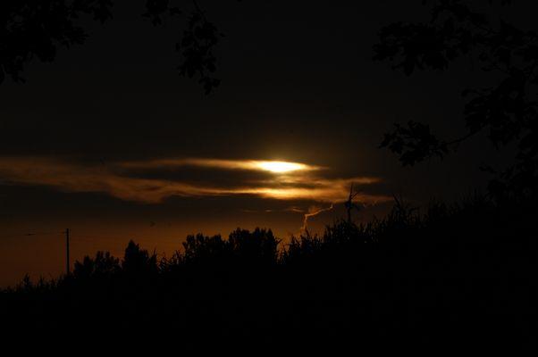 Par une belle nuit à la campagne