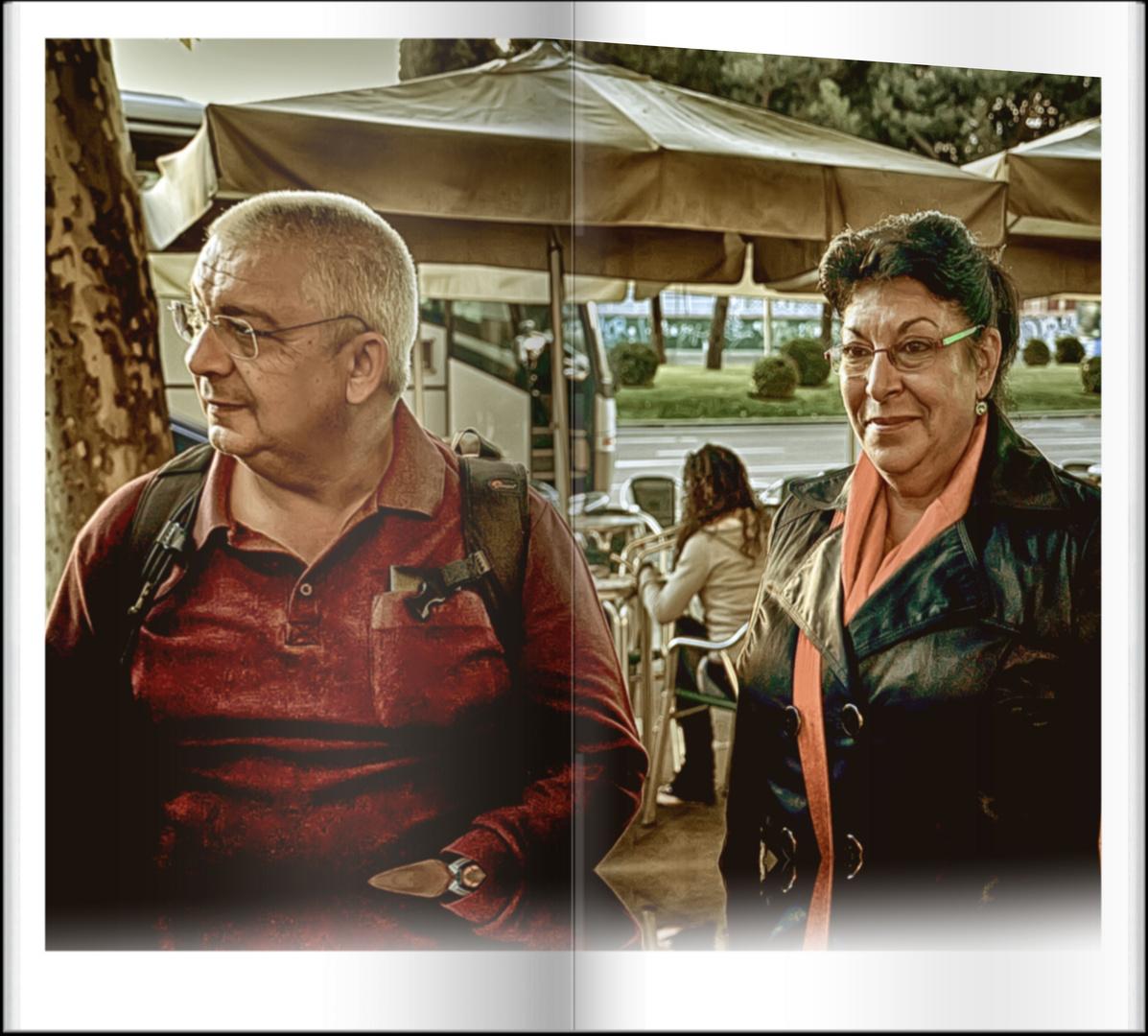 Para una encantadora pareja..... Cesar y Carmen