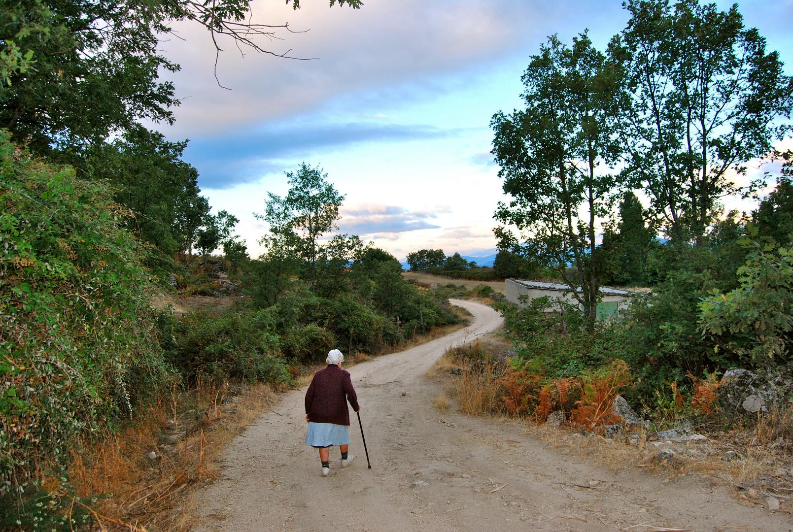 para una mujer excepcional caminante incansable y mejor acompañante  matuti 82 años